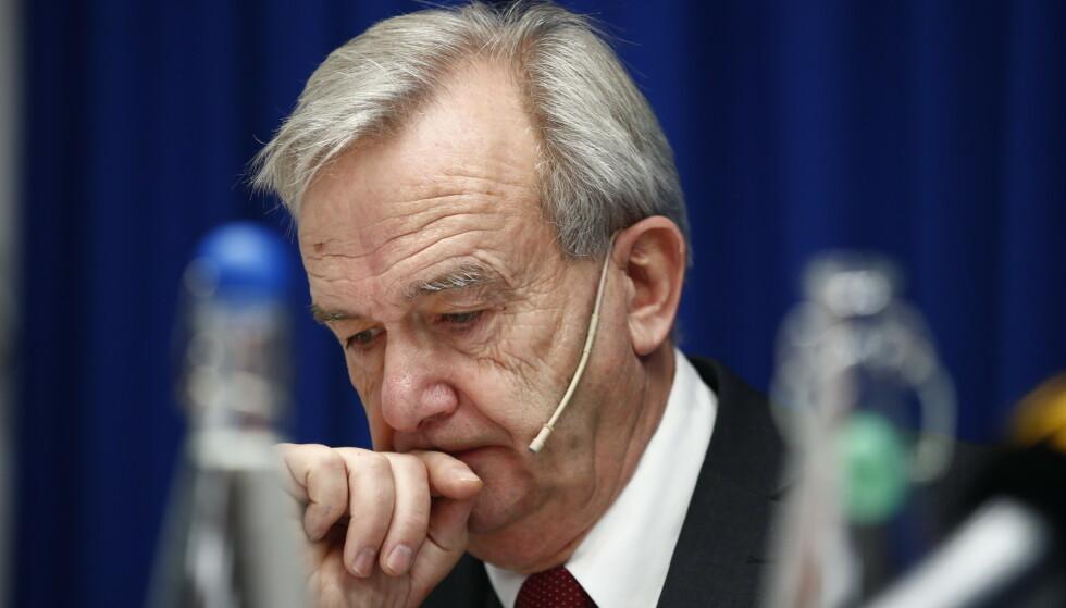 VILLE VITE: Riksadvokat Tor-Aksel Busch skulle ønske han var orientert om NAV-skandalen tidligere. Foto: Terje Pedersen / NTB scanpix
