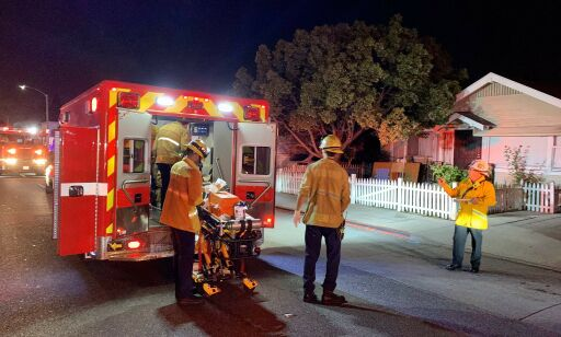 image: Tre drept på Halloween-fest i USA