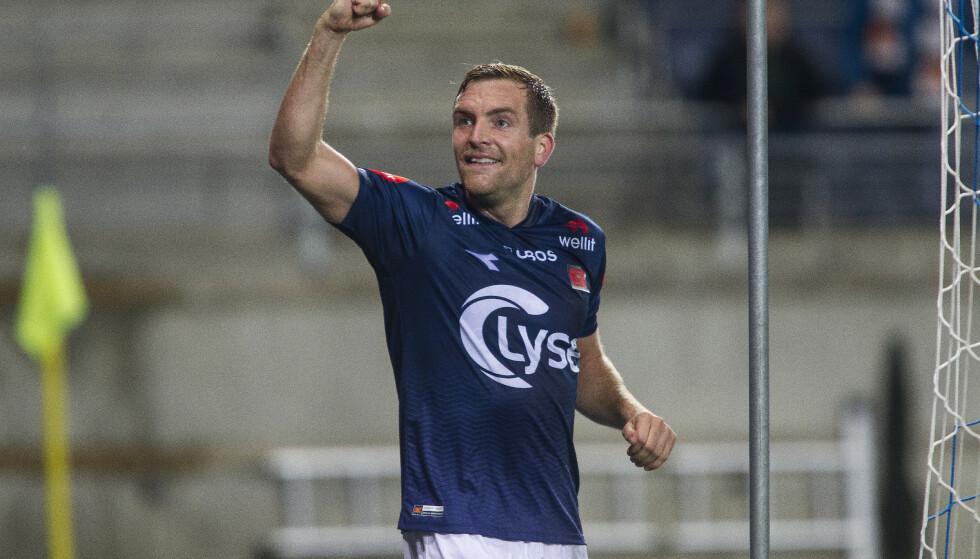 KLAR FOR KAMP: Kristoffer Løkberg gleder seg til semifinalen i cupen mot gamleklubben Ranheim. Foto: Carina Johansen /NTB Scanpix
