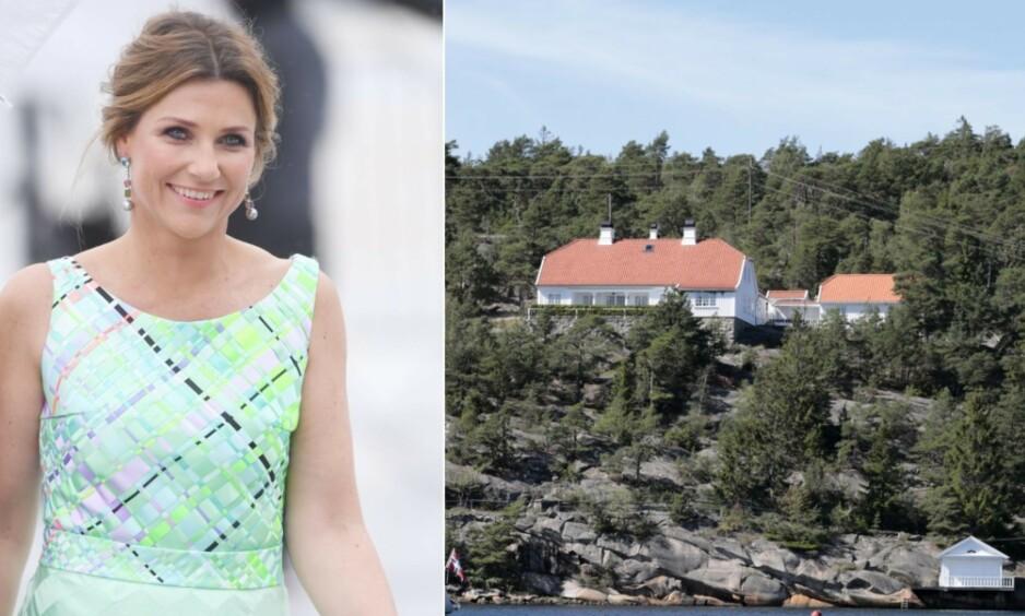 IKKE SOLGT: Prinsesse Märtha Louises feirehus på Hankø i Fredrikstad er nå trukket fra markedet. Foto: NTB Scanpix