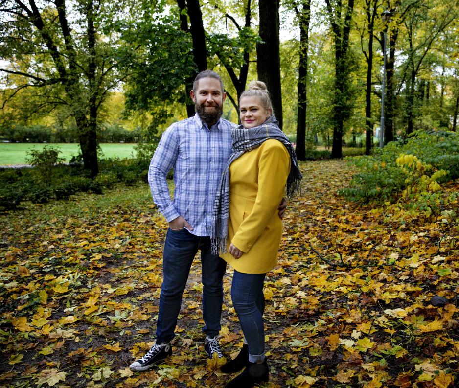 KETOGENT FORHOLD: - Vi har ikke hatt en eneste sprekk, forteller Ena Maria og Kenneth. Foto: Kristin Svorke/Dagbladet