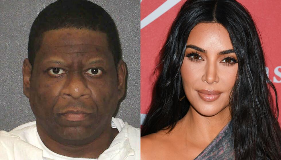 DØMT TIL DØDEN: Om tre uker skal Rodney Reed etter planen henrettes i Texas. Men mange, deriblant realitystjerna Kim Kardashian West, mener henrettelsen må stanses. Foto: NTB scanpix