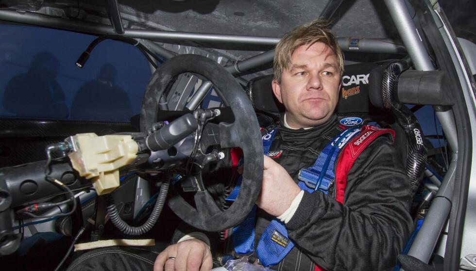 GJELD: Henning Solberg er begjært konkurs. Den tidligere rallysjåføren skal ha tatt opp lån fra flere ulike privatpersoner. Beløpene skal totalt være opp mot 80 millioner kroner. Foto: Micke Fransson / NTB Scanpix