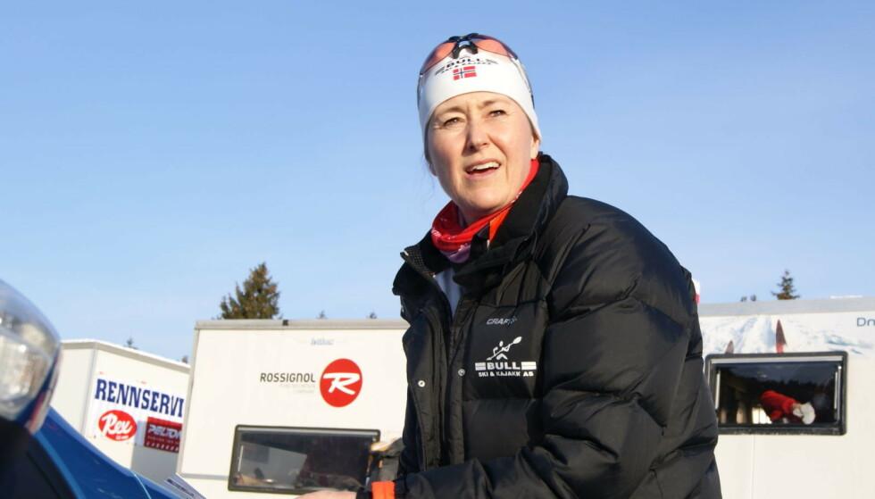 SKIMAMMAEN: Toril Stokkebø døde som 49-åring av nyrekreft. Hun var selv overbevist om at det var smøringen som gjorde henne syk. Foto: Privat