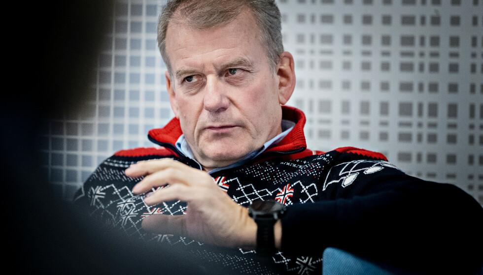 YDMYK: Skipresident Erik Røste mener forbundet har gjort mye siden 2016, men er ellers ydmyk i sitt svar. Foto: Bjørn Langsem / Dagbladet