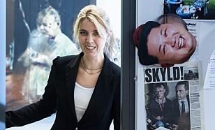 SKUFFET: Alexandra Beverfjord, sjefredaktør i Dagbladet Pluss . Foto: Lars Eivind Bones