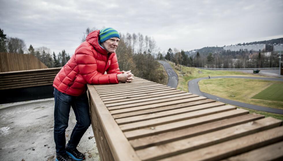 FAREN TIL «PØLSA»: – Jeg snakka med sønnen min om disse svarene, og hans første reaksjon var: «Fader, der har du stått i smørebua år inn og år ut for at jeg skal gå på ski, og så ender du opp med disse resultatene.» Foto: Christian Roth Christensen/Dagbladet
