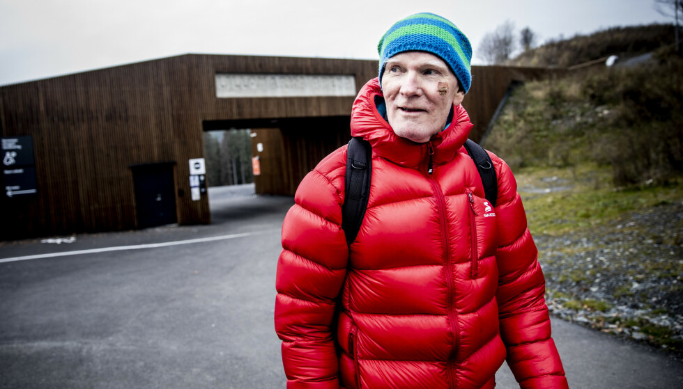 FORHØYEDE VERDIER: Ole Jørgen Pettersen er av av amatørsmørerne med klart forhøyede fluorverdier. Foto: Christian Roth Christensen.