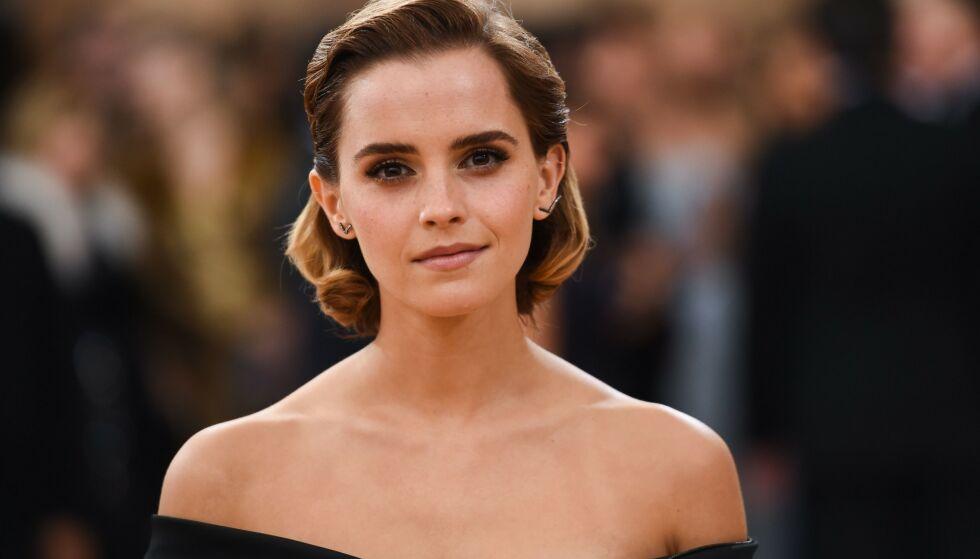 TRIVES: Emma Watson forteller at hun nå trives som singel. Hun kaller det for å være sin egen partner. Foto: Billy Farrell / Rex / NTB Scanpix