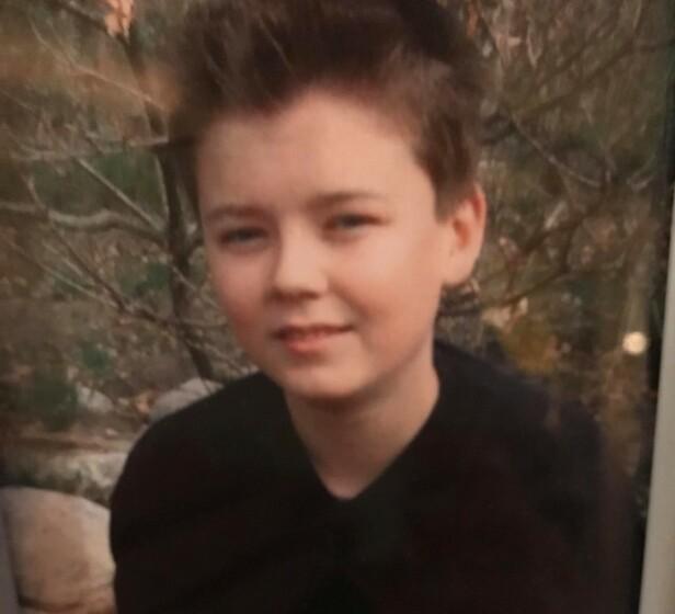 DEN GANG DA: Andreas har den siste tiden gjort seg godt bemerket i «Ex on the Beach». Her fotografert som liten gutt. Foto: Privat