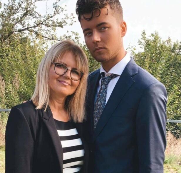 NYE DØRER: Andreas' mor tror at realitydeltakelse også kan føre med seg mye positivt. Foto: Privat