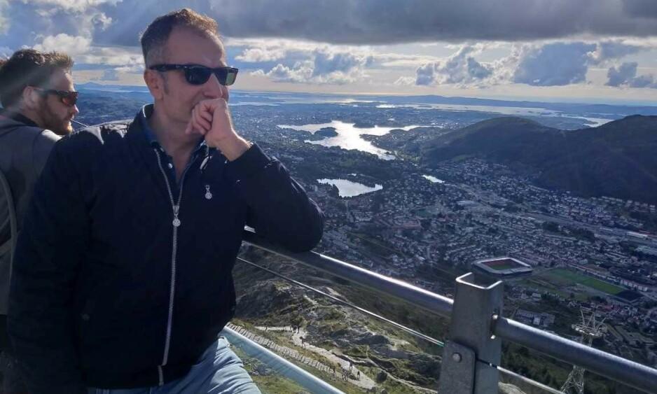 I LIMBO: Iransk-kurdiske Karim kom til Norge for 12 år siden og er en av de ureturnerbare asylsøkerne som var ansatt i Arne Vistes bemanningsbyrå. 19. september ble han arrestert i en politiaksjon på jobben sin hos Venezia pizza i Bergen, skriver innsenderen. Foto: Privat
