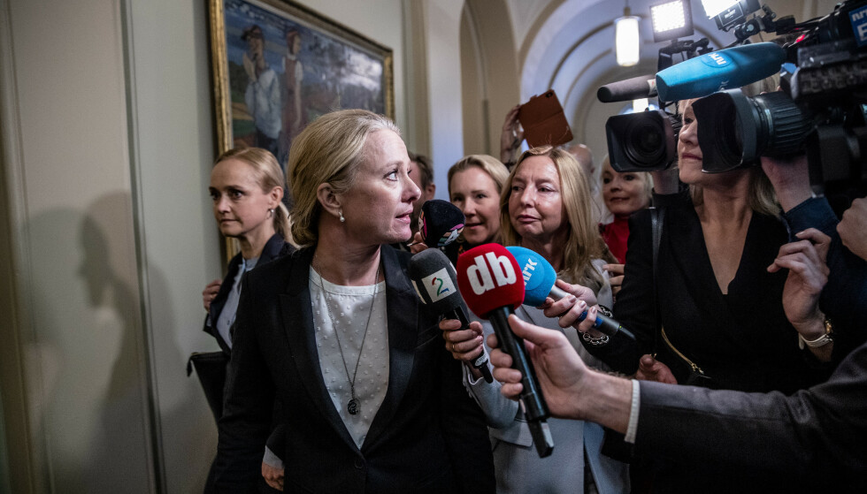 GRANSKES: Arbeids- og sosialminister Anniken Hauglies rolle i Nav-skandalen vil være en del av den eksterne granskningen. Foto: Stian Lysberg Solum / NTB Scanpix