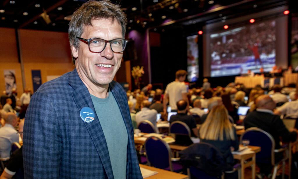 VIL STYRKE UTØVERNES RETTSIKKERHET: Johann Olav Koss er kandidat til nestleder- vervet - visepresident - i Idrettsforbundet. Foto: NTB/Scanpix