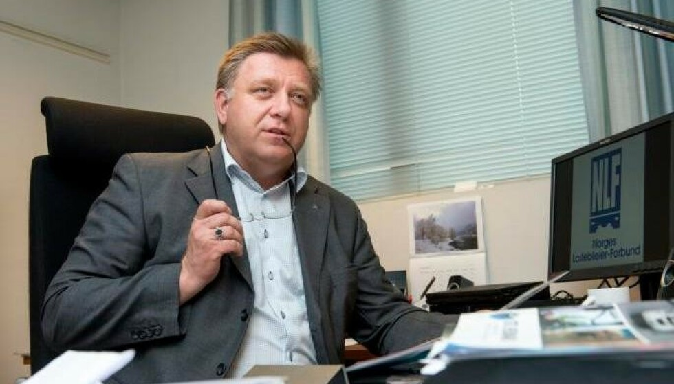 BEKYMRET: Geir A. Mo, administrerende direktør i Norges Lastebileier-Forbund. Foto: Jon Terje Hellgren Hansen / NLF