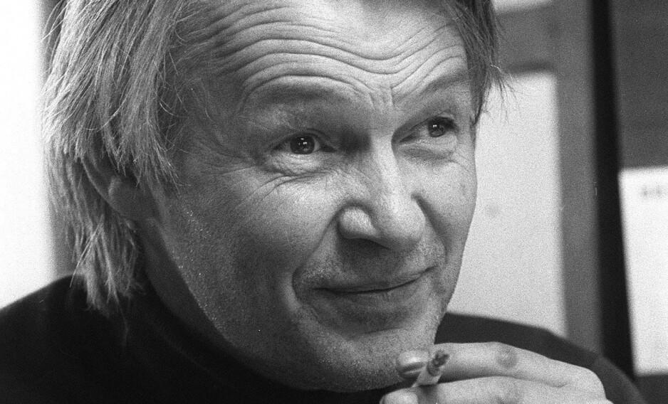 KONTROVERSIELL: Forfatter Axel Jensen i 1985. Foto: NTB scanpix