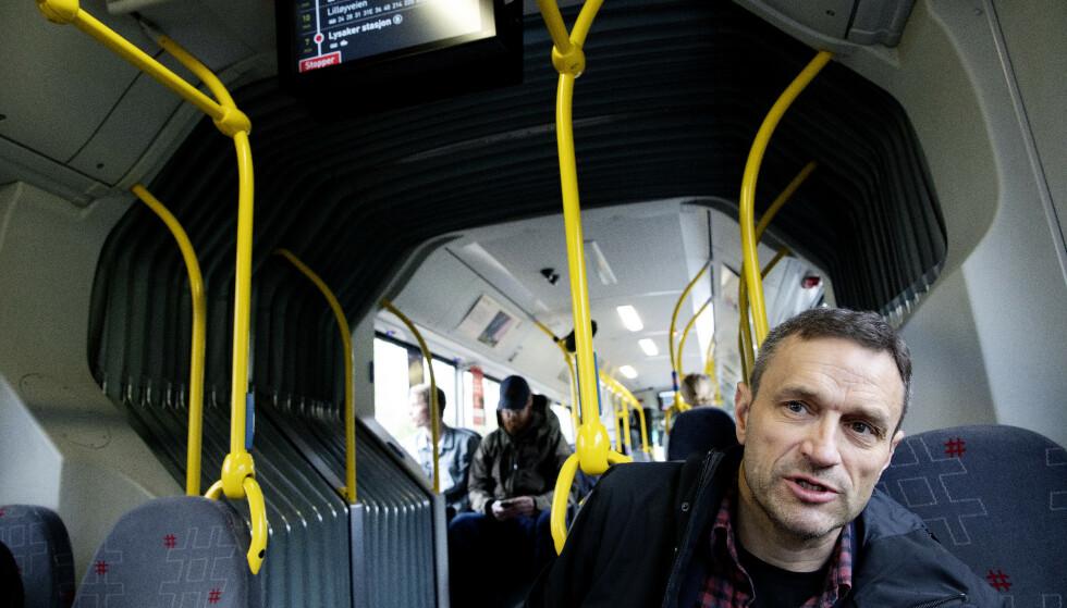 INGEN BEGRENSNINGER: MDG-topp Arild Hermstad ønsker ingen begrensninger på hvor mottakere av midlertidige trygdeytelser kan oppholde seg. Foto: Kristin Svorte / Dagbladet