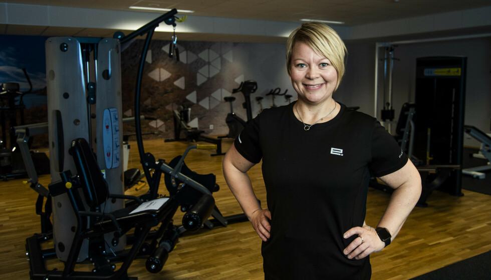 BLITT SPREK: Marthe Lang-Ree (44) slet med for høyt blodtrykk. Siden januar har hun gått ned 30 kilo, og blodtrykket og kolesterolet er nå helt normalt. Foto: Andreas Lekang.