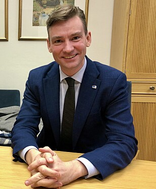 LEDER: Henrik Asheim (H), leder finanskomitéen på Stortinget. Foto: Gunnar Ringheim / Dagbladet