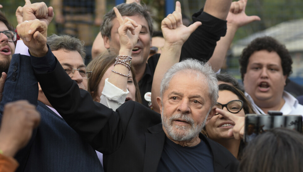 NEKTET: Lula har nektet for alle anklagene og sier de er politisk motivert. Foto: HENRY MILLEO / AFP / NTB Scanpix
