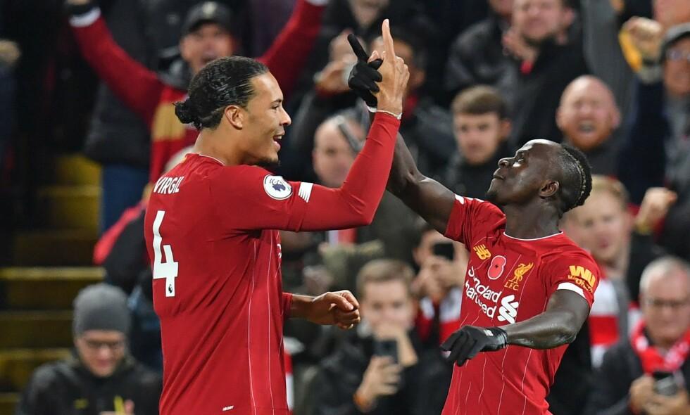 IMPONERTE: Sadio Mané var blant spillerne som tok tak da Liverpool slo Manchester City. Foto: Paul ELLIS / AFP / NTB Scanpix