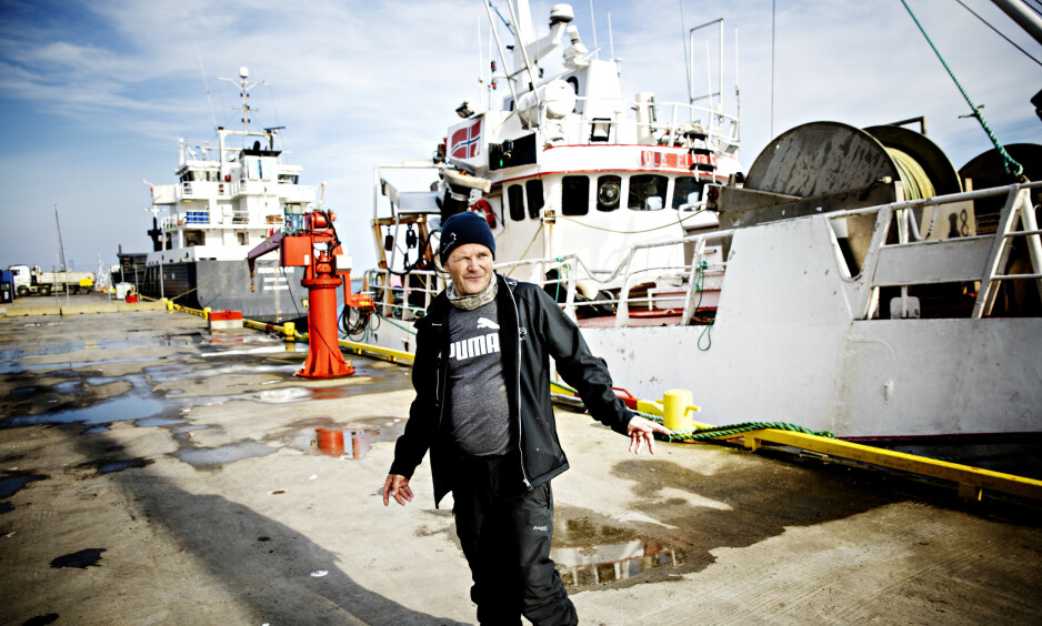 I ARBEIDS-STRID: Daglig leder i Andenes Fiskemottak, Leif Kvivesen, er ikke enig i Arbeidstilsynets konklusjoner. Foto: Nina Hansen/Dagbladet