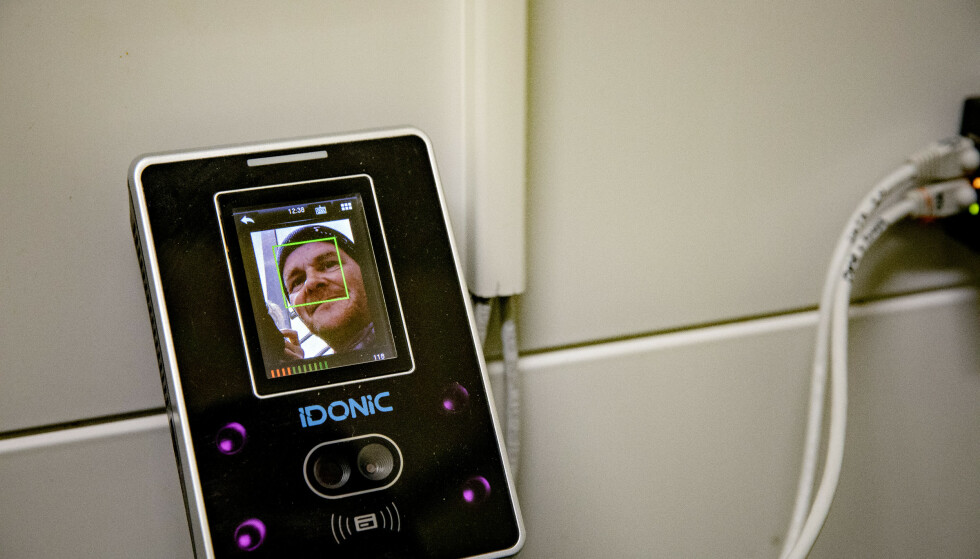 ANSIKTREGISTRERING: Arbeidstilsynet brukte bedriftens system for ansiktgjenkjenning for å dokumentere brudd på arbeidstidsbestemmelser. Foto: Nina Hansen / DAGBLADET