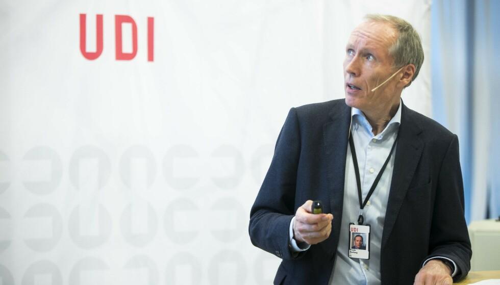 Under lupen: UDI og direktør Frode Forfang bør granskes under rettferdighetens lupe i tida som kommer. Foto: Terje Pedersen / NTB scanpix