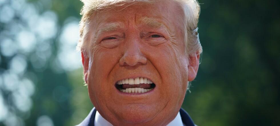 Trump kan felle seg selv