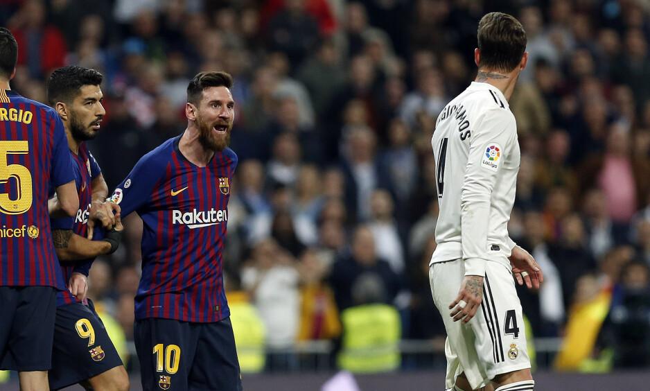 FLYTTES: Barcelona og Real Madrid skal delta i spansk supercup i Saudi-Arabia. Foto: Nau R.B. /AlterPhotos / ABACAPRESS.COM / NTB Scanpix