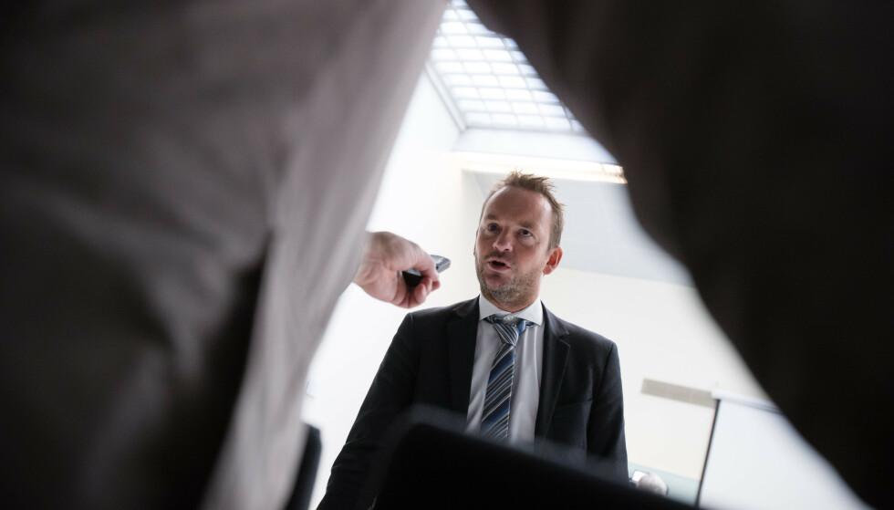 Superlobbyist: Geir Ove Ystmark, administrerende direktør i Sjømat Norge. Foto: Audun Braastad / NTB scanpix