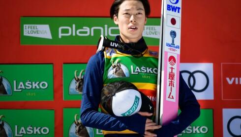 VAR I EGEN KLASSE: Ryoyu Kobayashi. Foto: NTB Scanpix