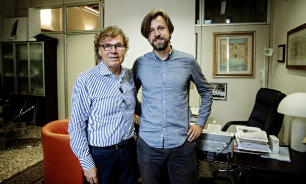 FORSKER: Carlo Foresta og Andrea di Nisio er to av Italias fremste eksperter på menns reproduksjonsevne. Foto: Nina Hansen