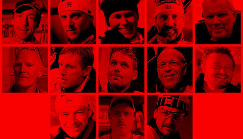 EN JOBB SOM TOK PÅ: En tredel av Norges landslagssmørere fra 1987 til 2011 har hatt helseplager som kan relateres til jobben de har gjort. Fotomontasje: Alexander Prestmo