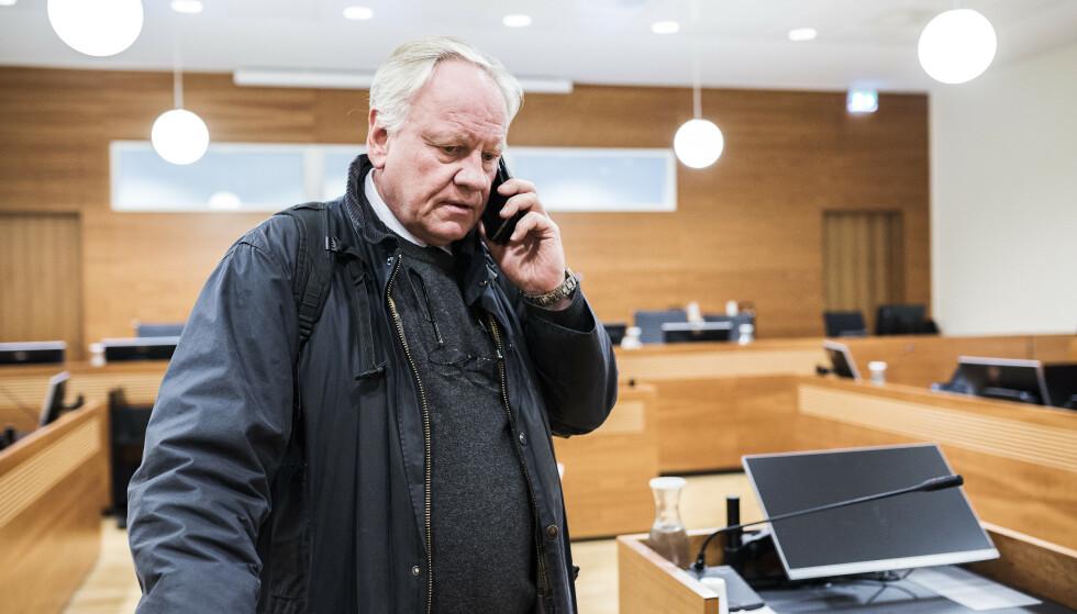 FORSVARER: Sigurd Klomsæt forsvarte Kopseng i retten. Foto: Ralf Lofstad / Dagbladet