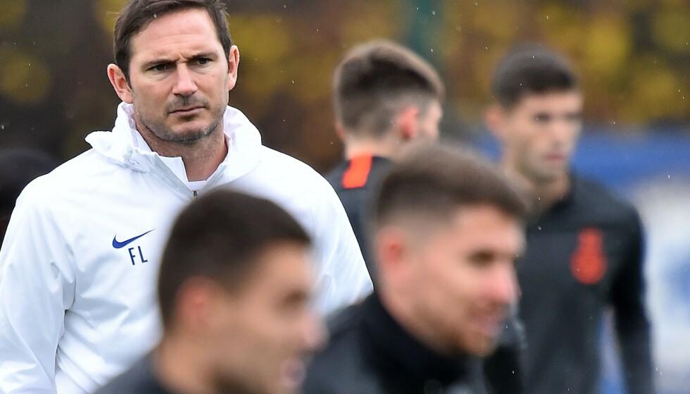 TØFT REGIME: Frank Lampard har innført tøffe straffer til spillerne som bryter interne regler. Foto: NTB/Scanpix