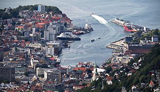 STRIDENS KJERNE: Striden står her: I Bergens gater og smug. Foto: Marit Hommedal / NTB scanpix