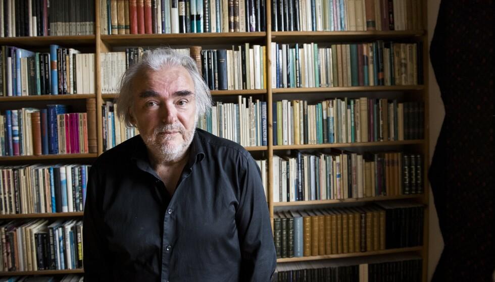 SORGROMAN: Ole Robert Sundes nye bok handler om en sorg som ikke tar slutt. Foto: LARS EIVIND BONES
