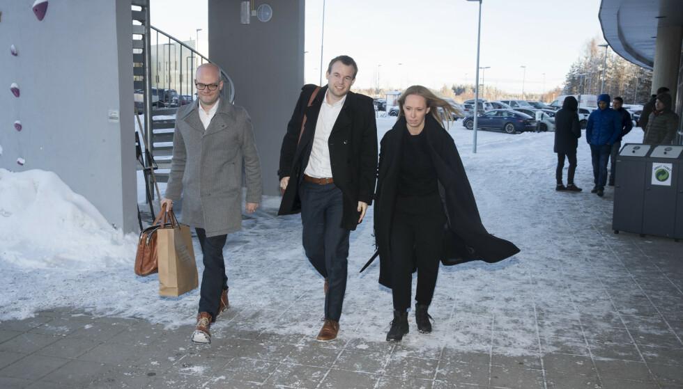 HAR FÅTT STATSSTØTTE-SVAR: Barne- og familieminister Kjell Ingolf Ropstad og statssekretær Jorunn Hallaråker. Foto: NTB Scanpix