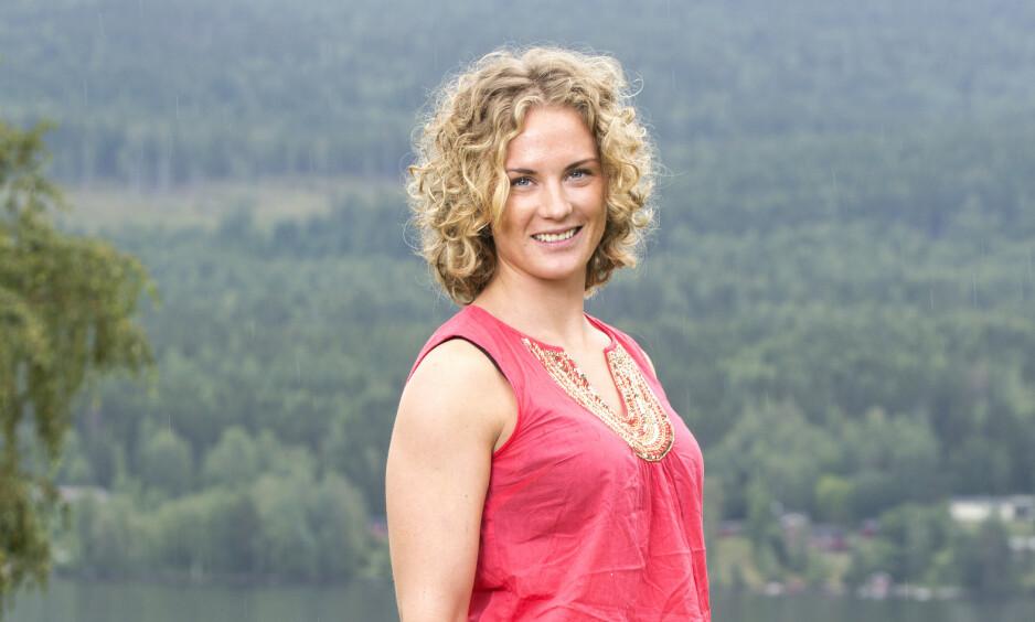 SKAL BLI MOR: Marte Søreide, som kjempet seg til finaleplass i «Farmen» i 2015, venter sitt første barn med forloveden Siri Øveraas. Foto: Andreas Fadum / Se og Hør