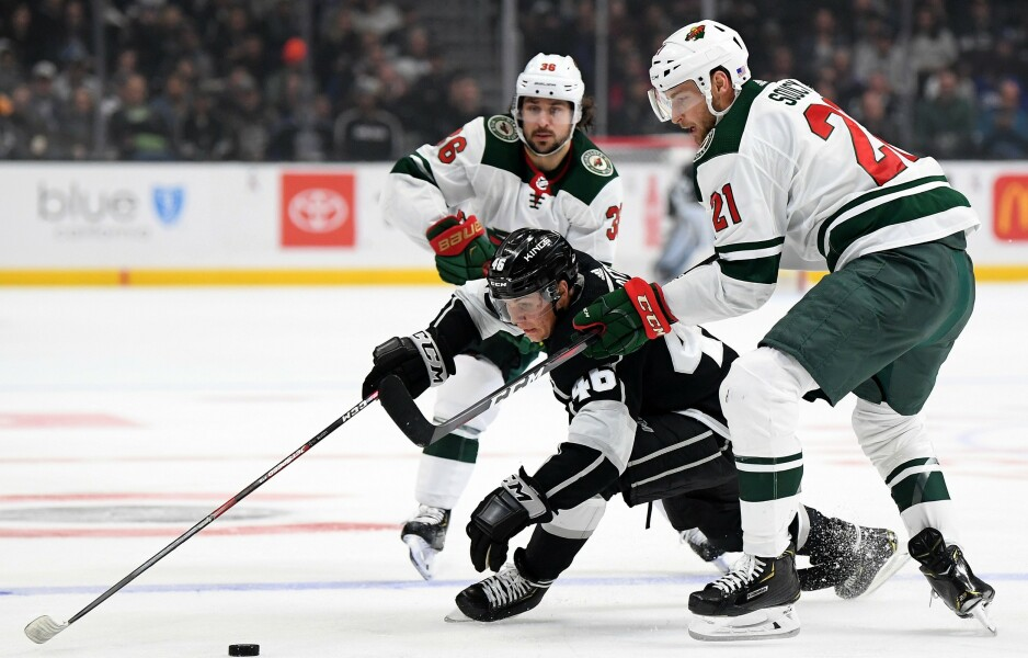 TAPTE: Mats Zuccarello og Minnesota Wild. Foto: Harry How / Getty Images / AFP / NTB Scanpix