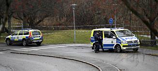 Væpnet drama i Sverige