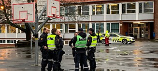 387 elever evakuert fra skole