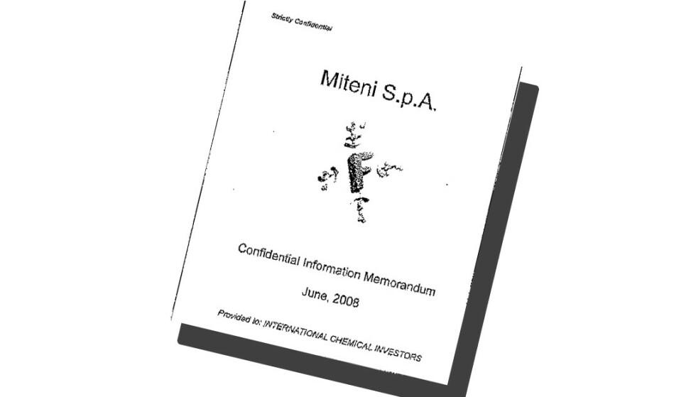 BESLAGET: Politiet har beslaglagt omfattende dokumentasjon som skal vise at Miteni har holdt miljøskandalen skjult.