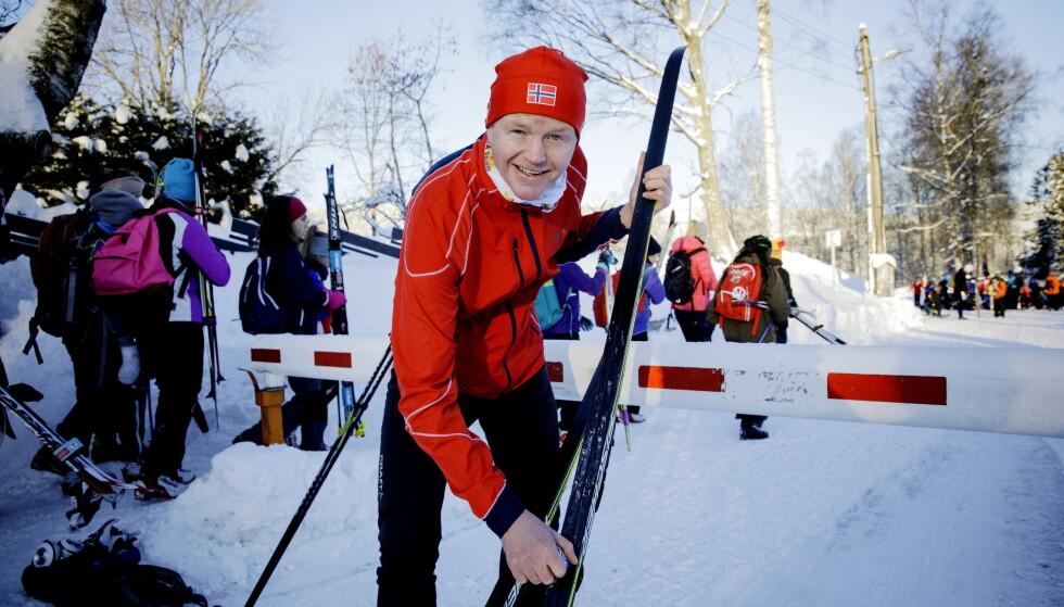 Fluorfritt: Lars Haltbrekken (SV) er glad i å gå på ski, men smører da fluorfritt, har han tidligere fortalt Dagbladet. Foto: Nina Hansen