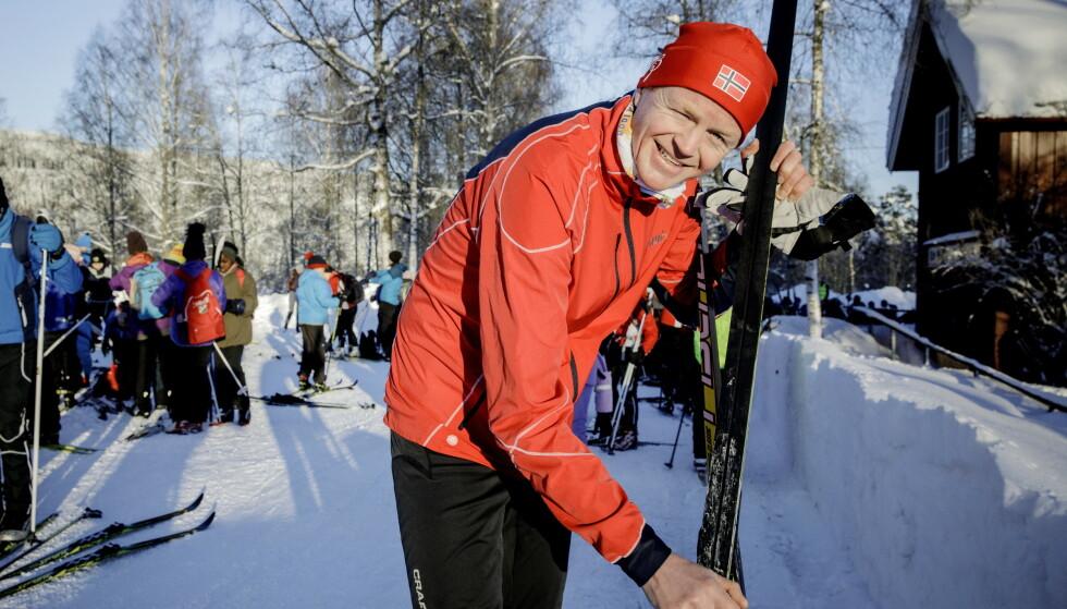 Foreslår fluorforbud: Lars Haltbrekken (SV) foreslår totalt fluorforbud for Stortinget i dag. Foto: Nina Hansen.
