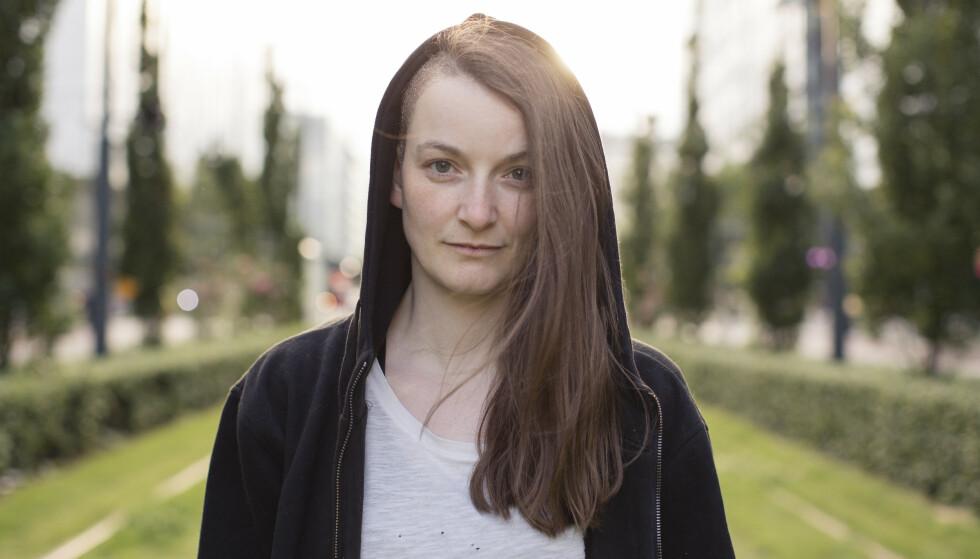 NEI TIL BARN: Hovedpersonen i Linn Strømsborgs siste roman har bestemt seg for ikke å få barn. Foto: FLAMME FORLAG / HEIDI FURRE