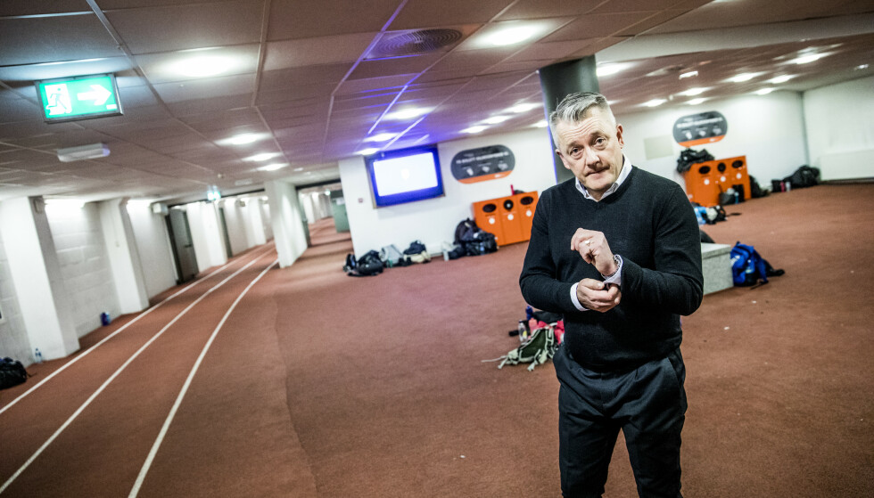 BRANNFAKKEL: Gjert Ingebrigtsen mener løpsteknikk har ingen betydning på lengre distanser. Foto: Christian Roth Christensen / Dagbladet