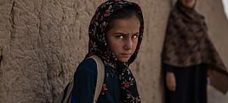 Ghazal (8) er redd for å gå ut