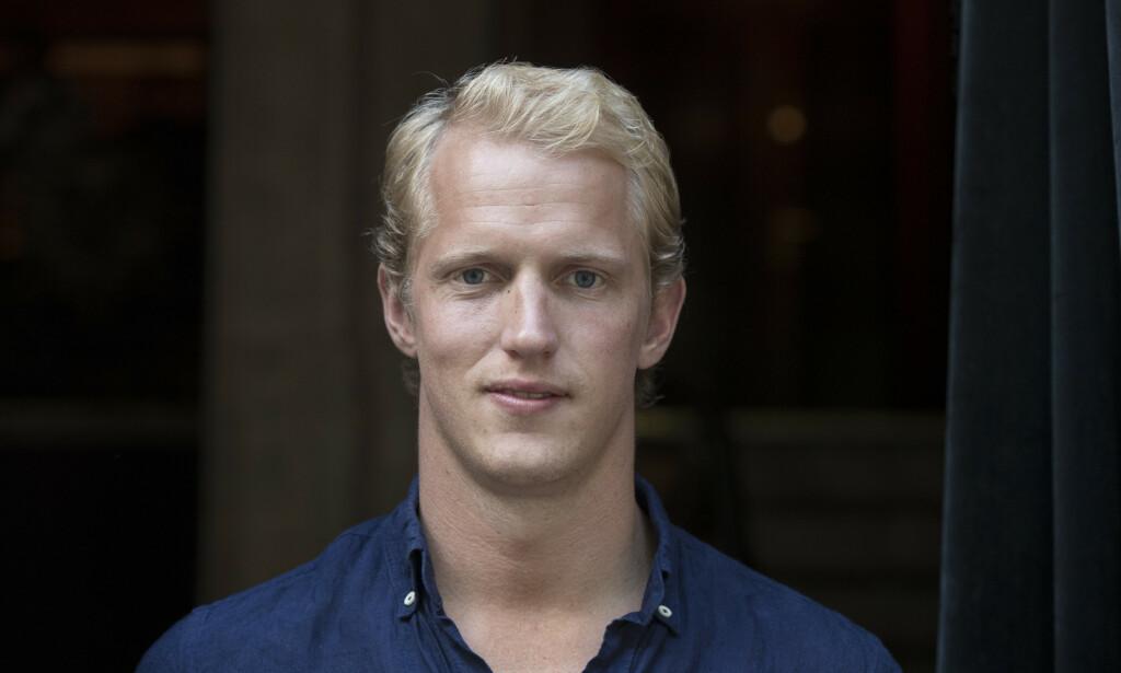 BEKREFTER FORHOLD: Erik Follestad forteller at han har hatt kjæreste en stund. Foto: Vidar Ruud / NTB scanpix